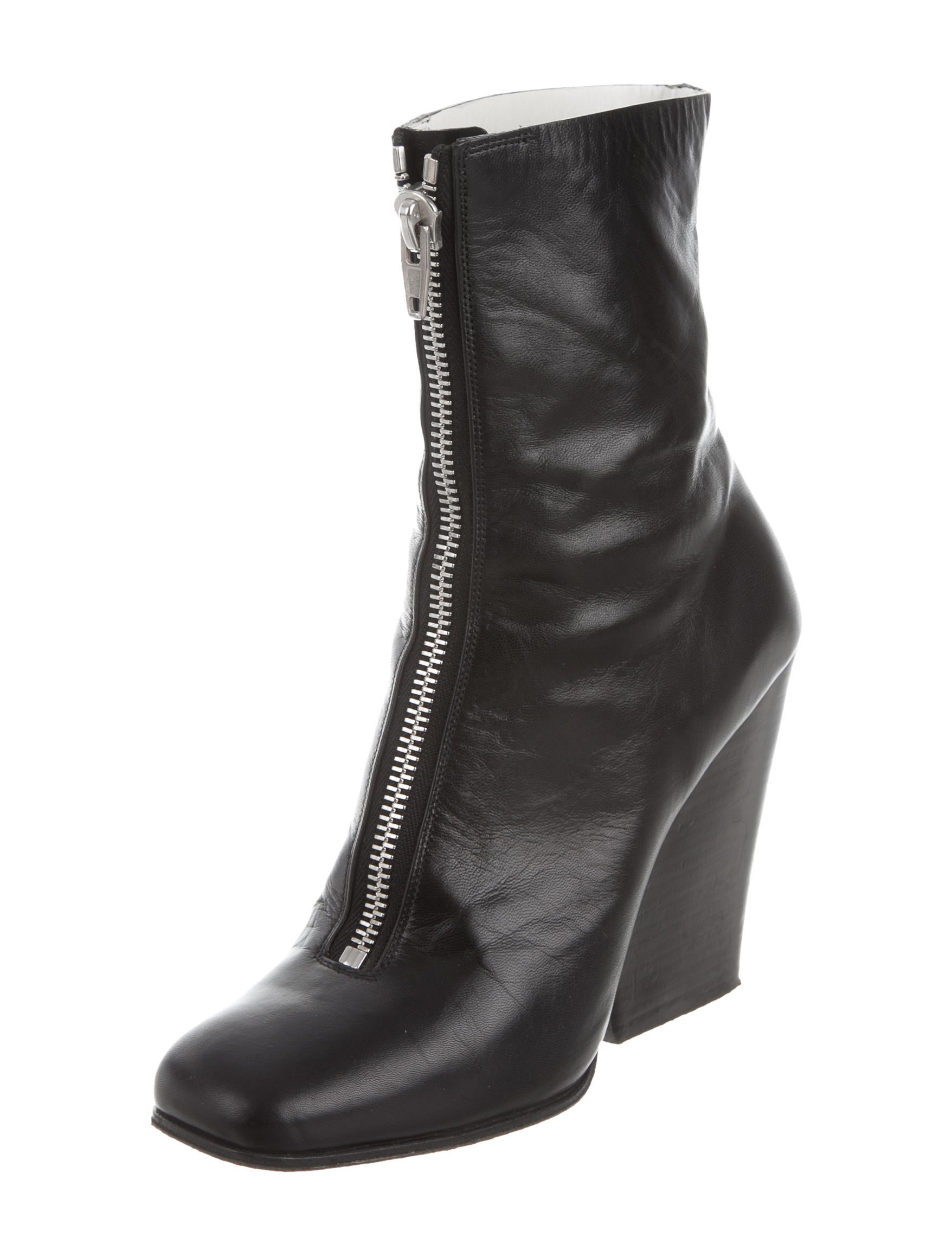 c 233 line leather square toe ankle boots shoes cel45794