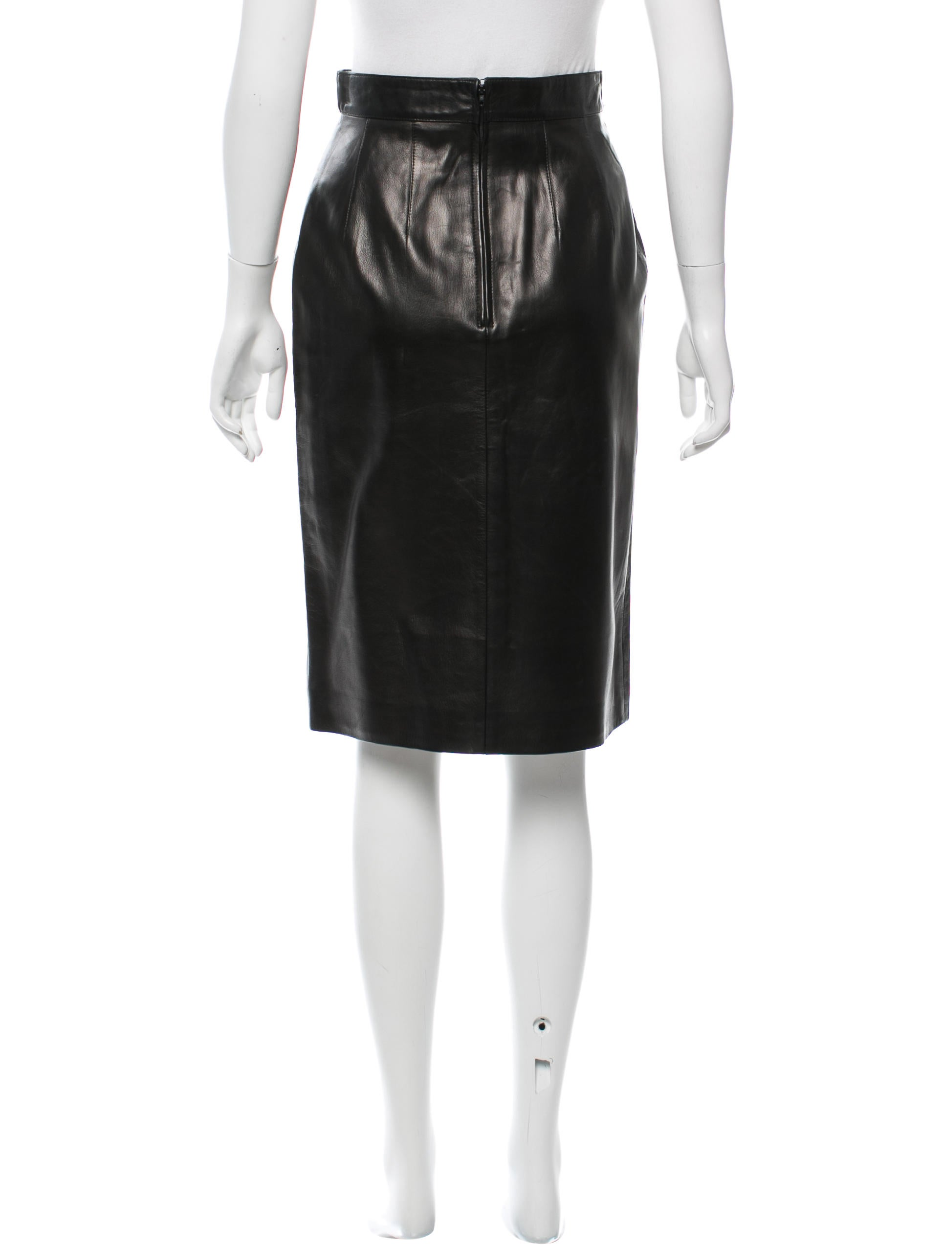 c 233 line leather pencil skirt clothing cel46070 the