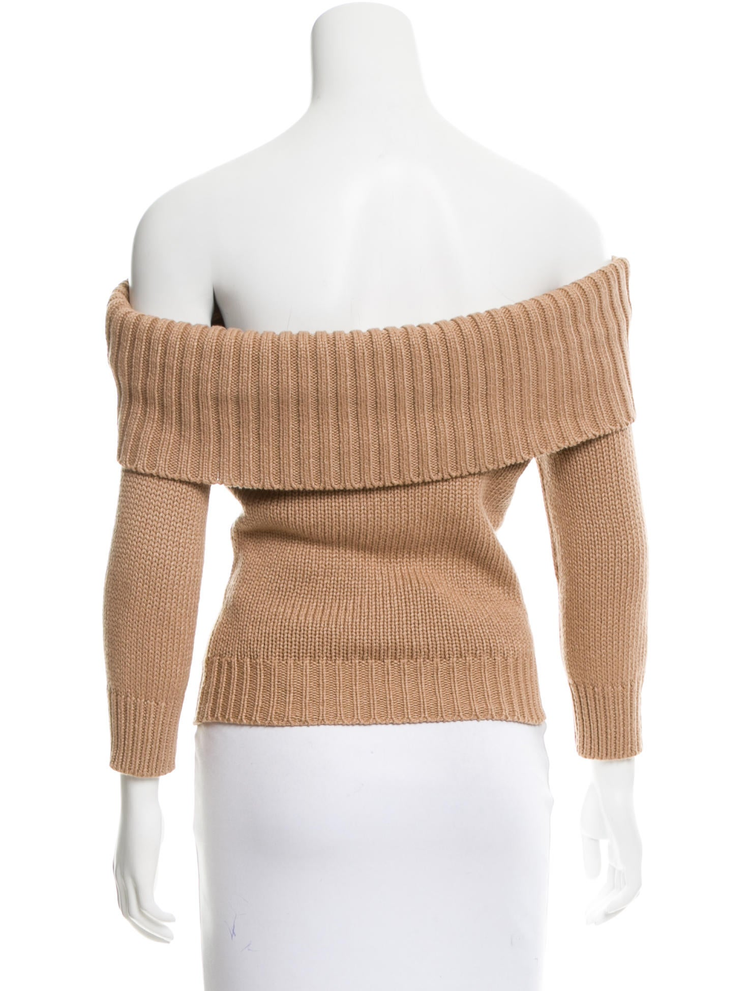 Knitting Increases For Sleeves : Knit off the shoulder sweater full zip