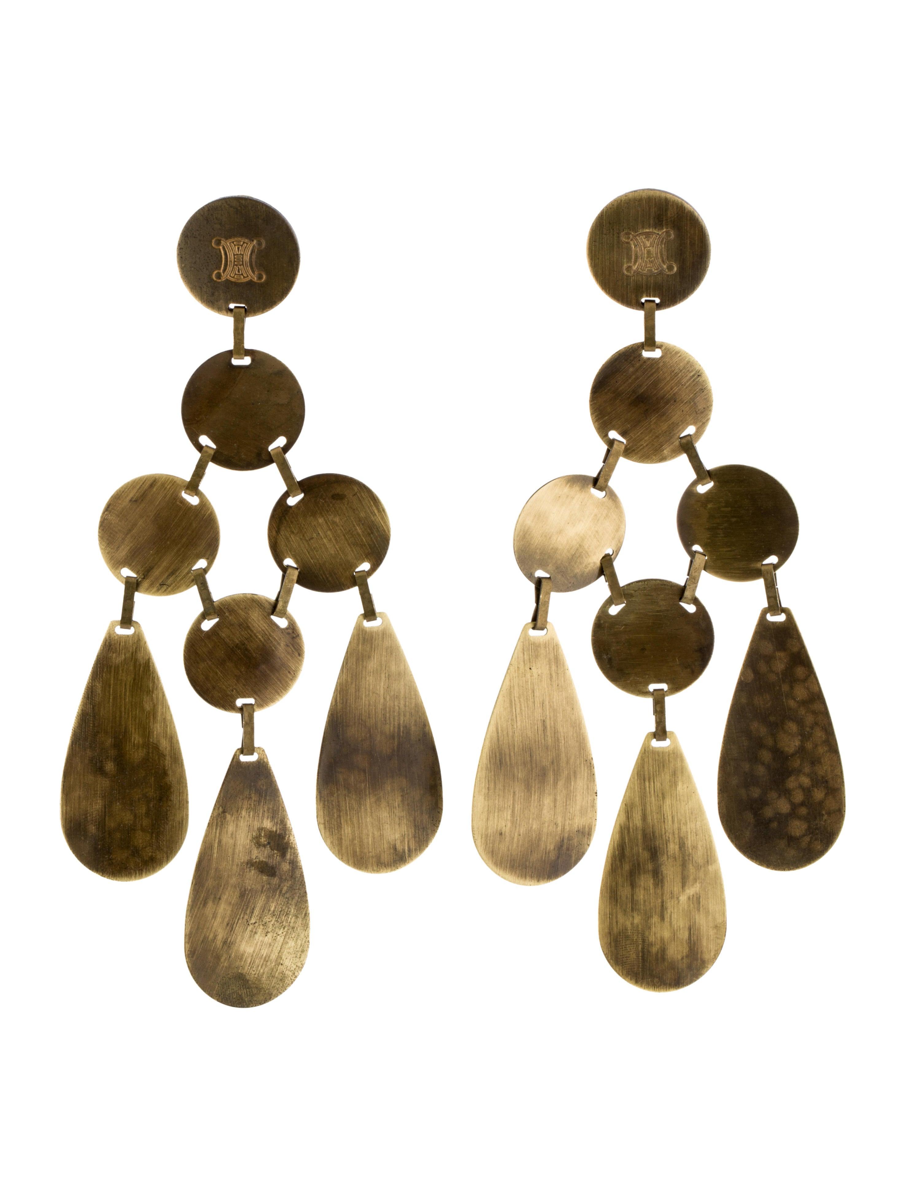 Cline chandelier earrings earrings cel47120 the realreal chandelier earrings arubaitofo Images