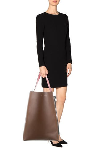 Oversize Twisted Cabas Tote