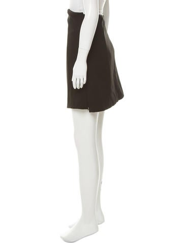 c 233 line structured a line skirt w tags clothing