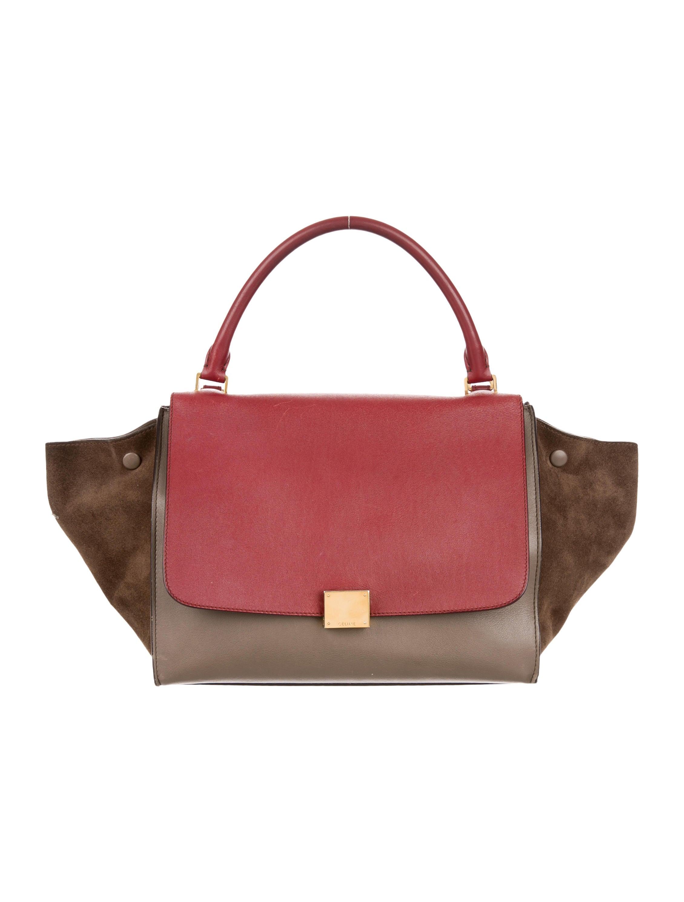 Cu00e9line Medium Trapeze Bag - Handbags - CEL48252 : The RealReal