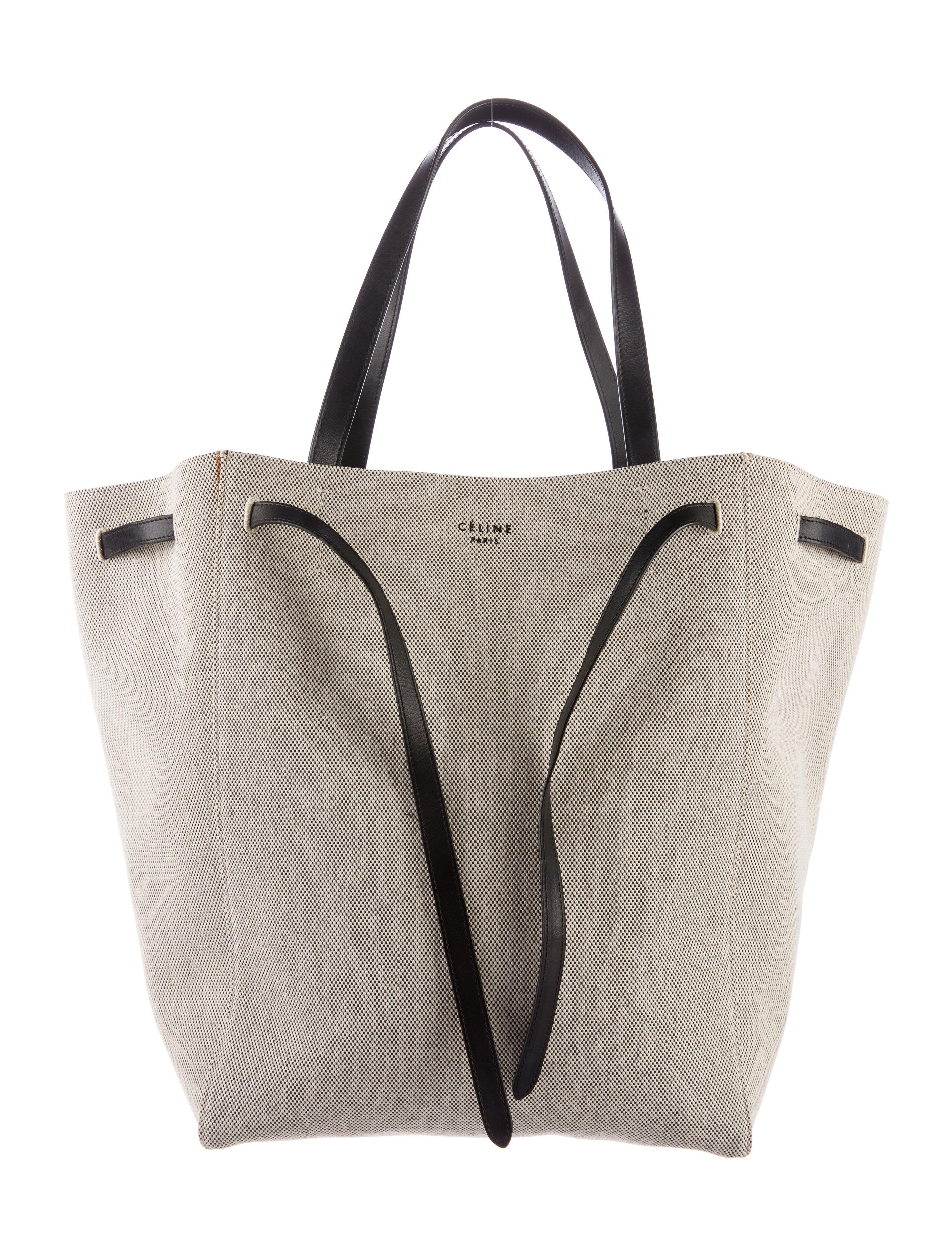 a8f62c073c5b Celine Céline Canvas Cabas Phantom Tote - Handbags - CEL48334