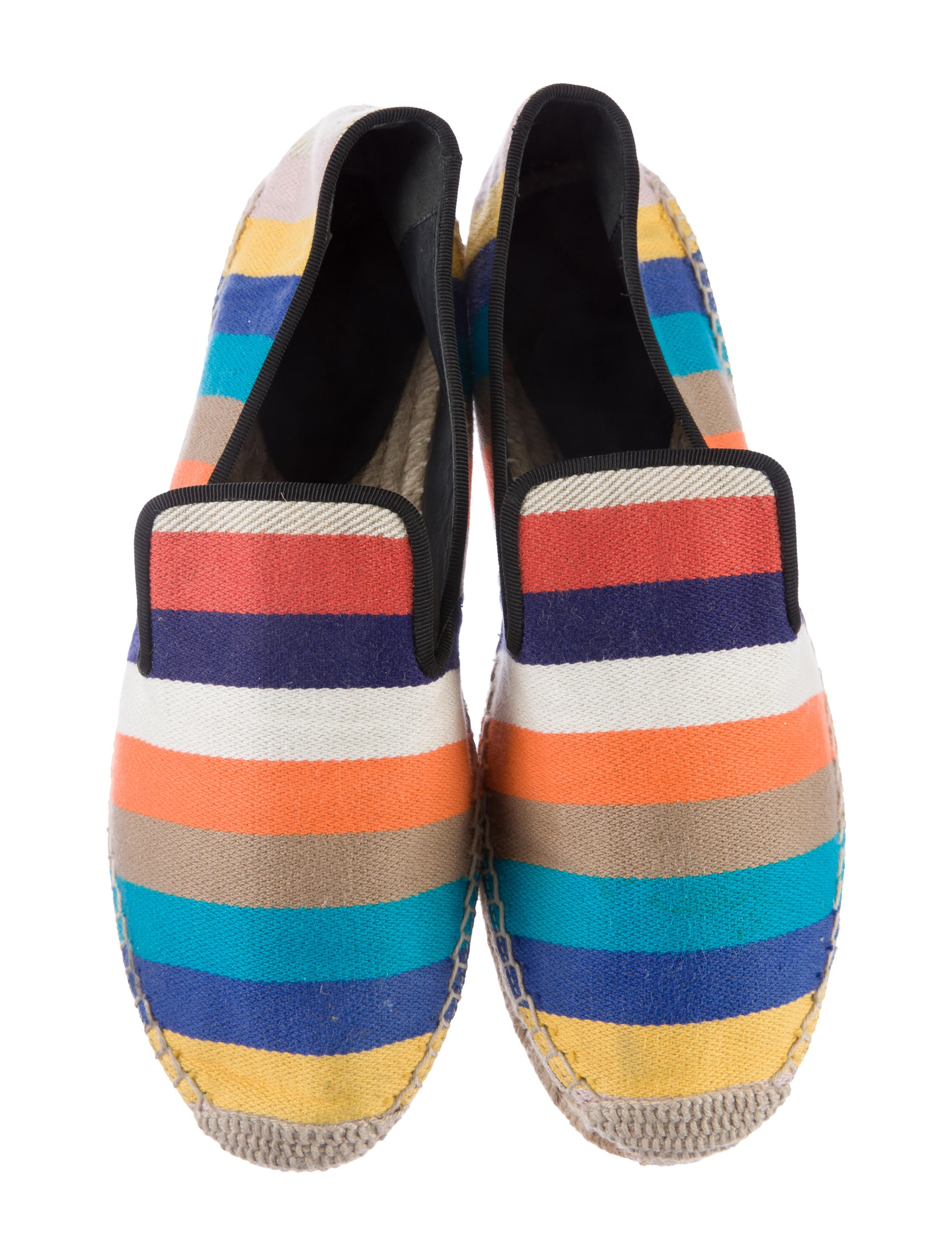 Find and save ideas about Striped shoes on Pinterest. | See more ideas about Kate spade sandals, Summer flats and Vans footwear.