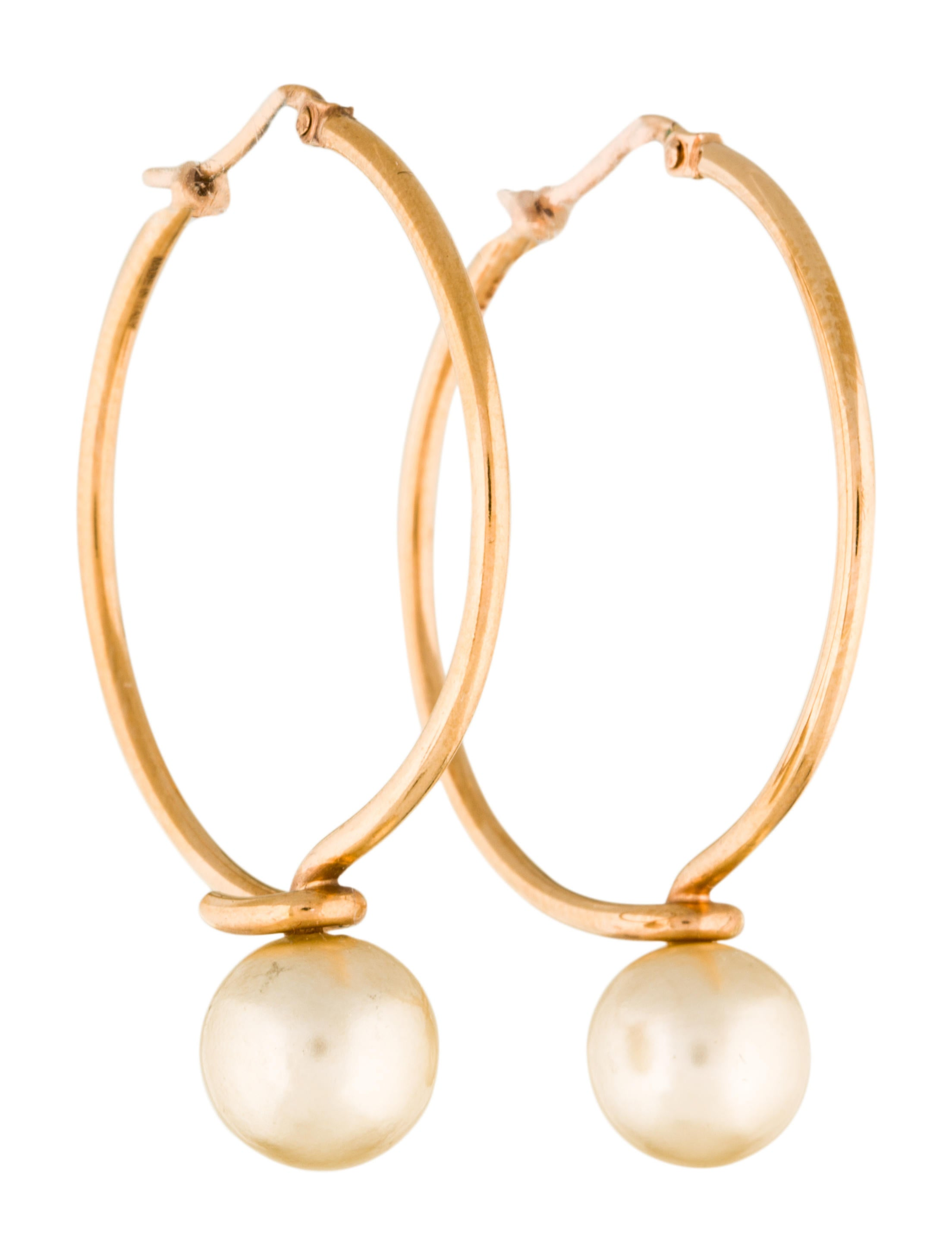 co pin south earrings jewellery golden with sea diamonds pearl real