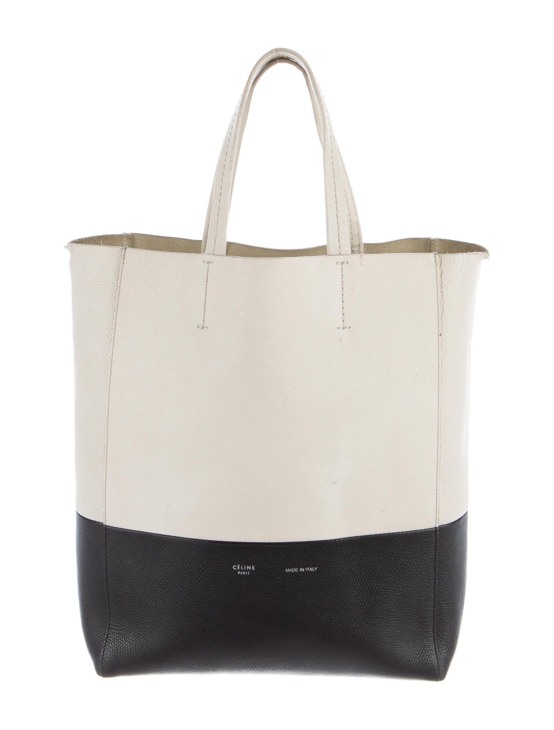 c010d3d6fb Celine Céline Small Vertical Bi-Cabas Tote - Handbags - CEL49346 ...