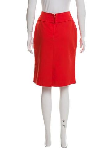 c 233 line vintage knee length pencil skirt clothing