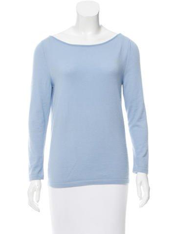 Céline Bateau Cashmere Sweater None