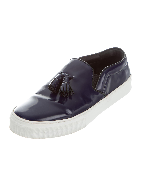 c 233 line tassel slip on sneakers shoes cel50649 the