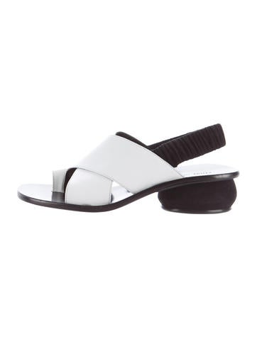 Céline Crossover Slingback Sandals cheap low price fee shipping sale i0YE4X