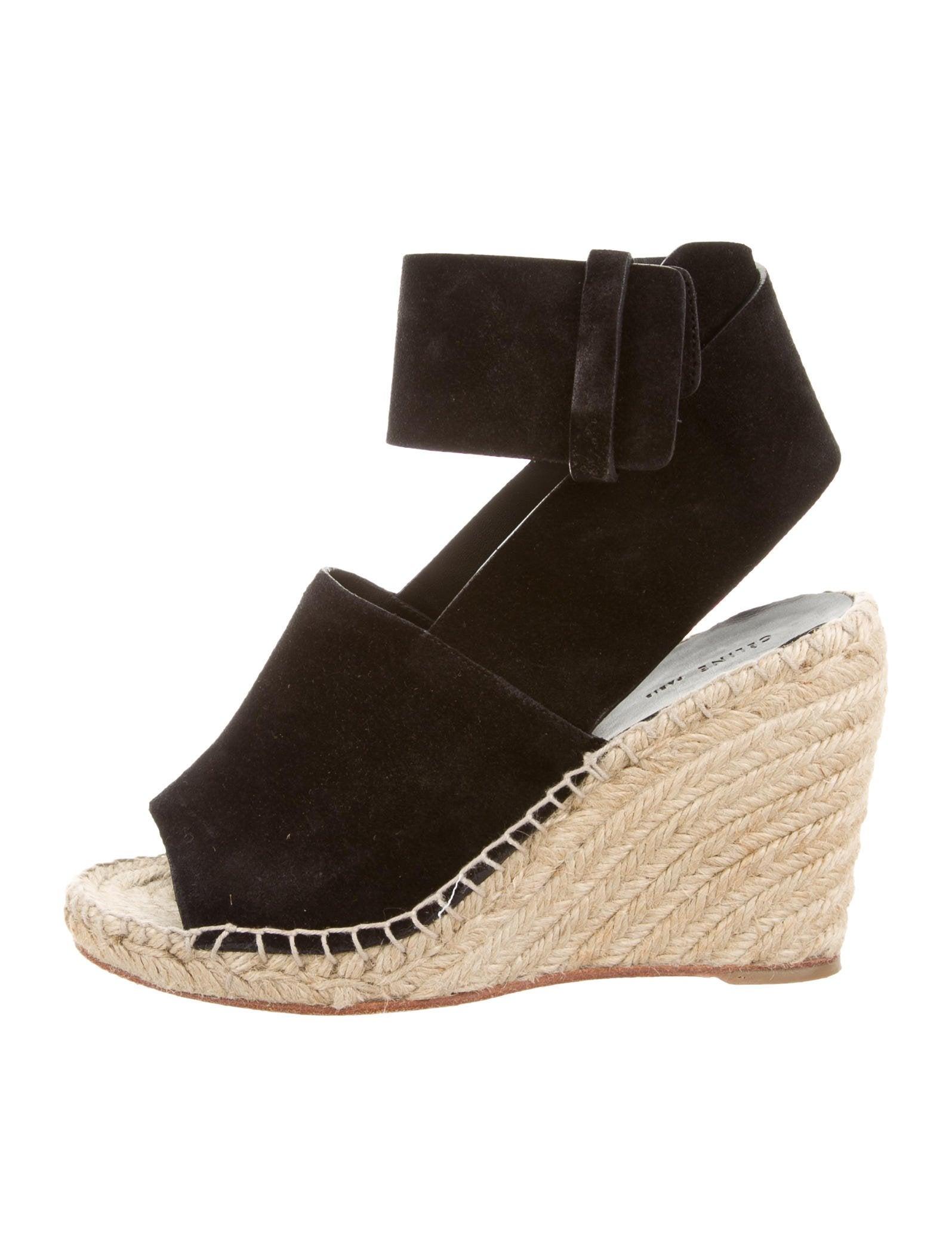 Céline Espadrille Wedge Sandals - Shoes - CEL50765   The ...
