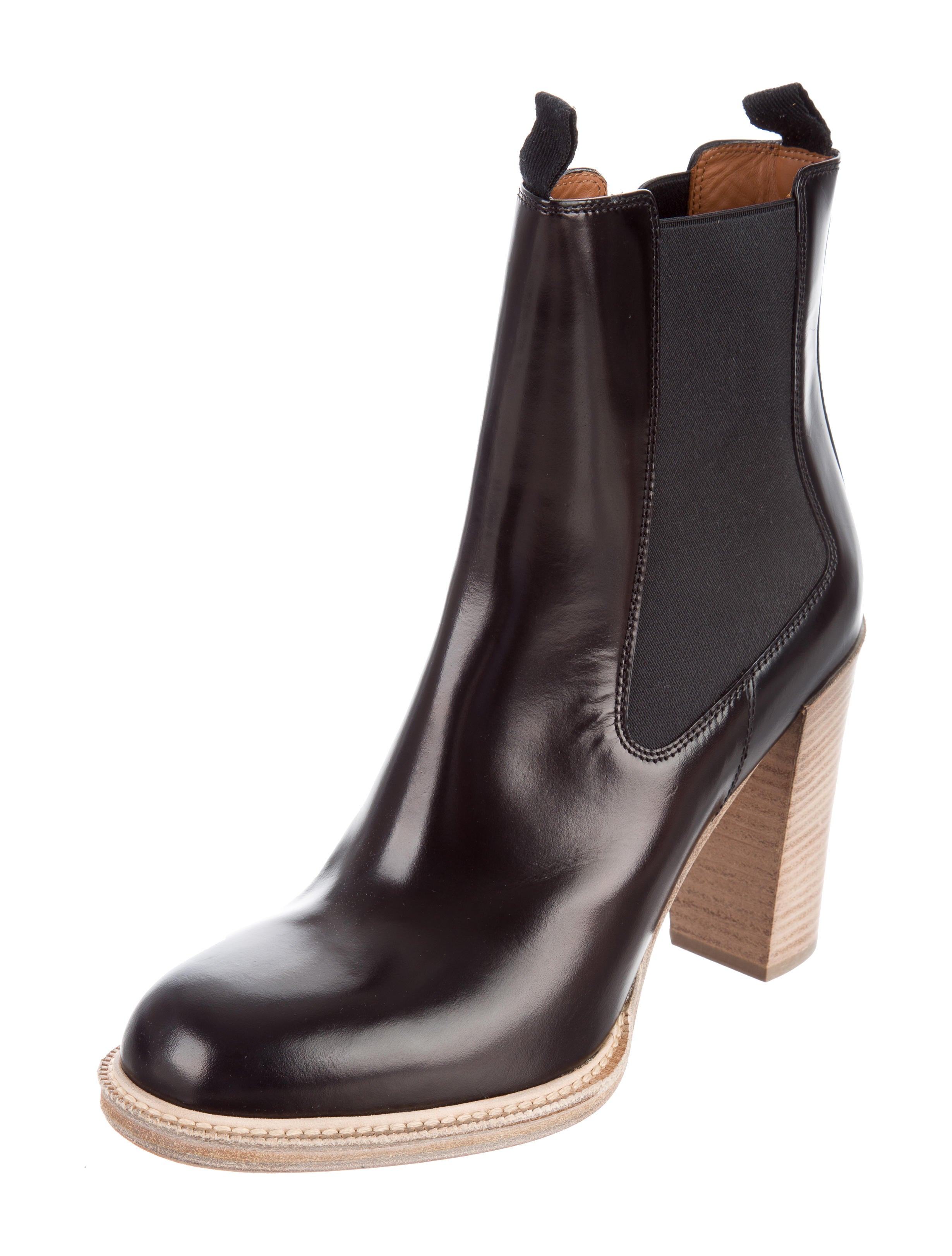 official site cheap price Céline Leather Round-Toe Ankle Boots w/ Tags sale websites sale very cheap 4uzDGH3