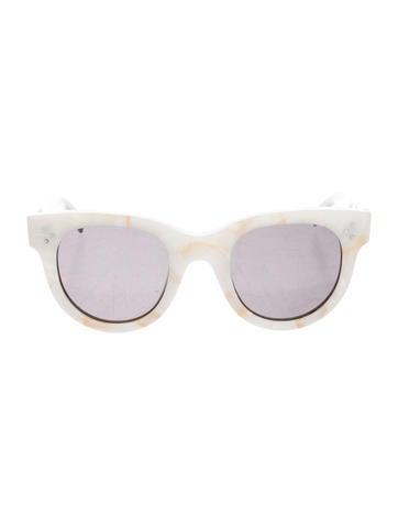 dc40ea363fc2a Celine Céline Baby Audrey Marbled Sunglasses - Accessories - CEL53061