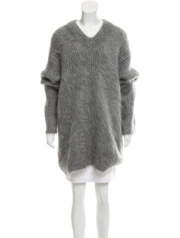 Céline Mohair Oversize Sweater w/ Tags None