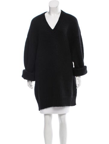 Céline Mohair-Blend Oversize Sweater w/ Tags None
