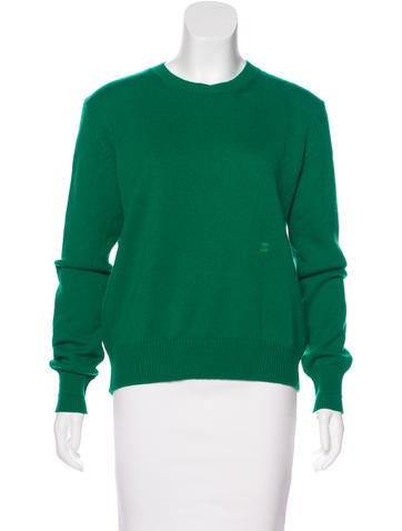 Céline Cashmere Crossover Sweater w/ Tags None