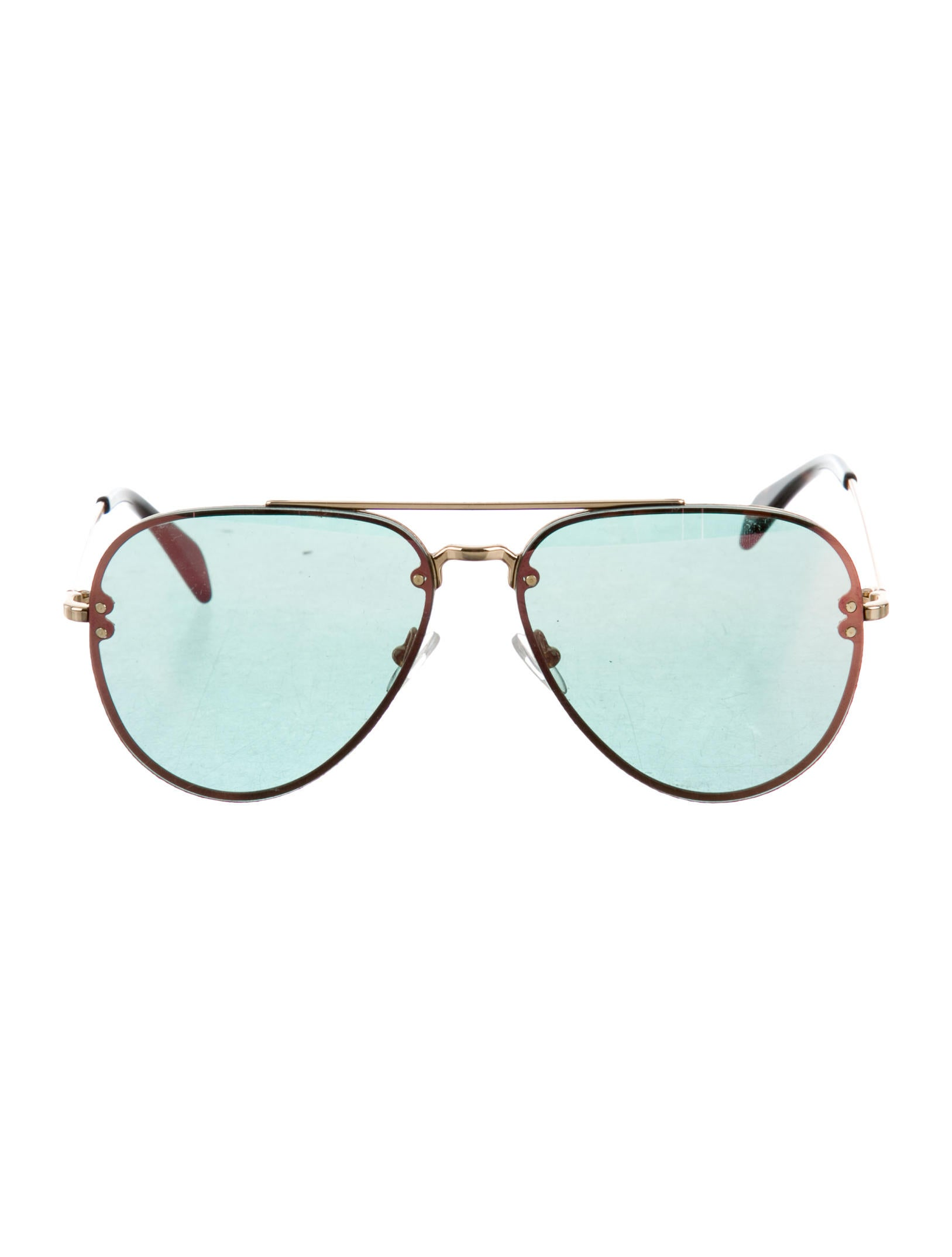 bd3cebe8b934 Celine Céline Reflective Aviator Sunglasses - Accessories - CEL53789 ...