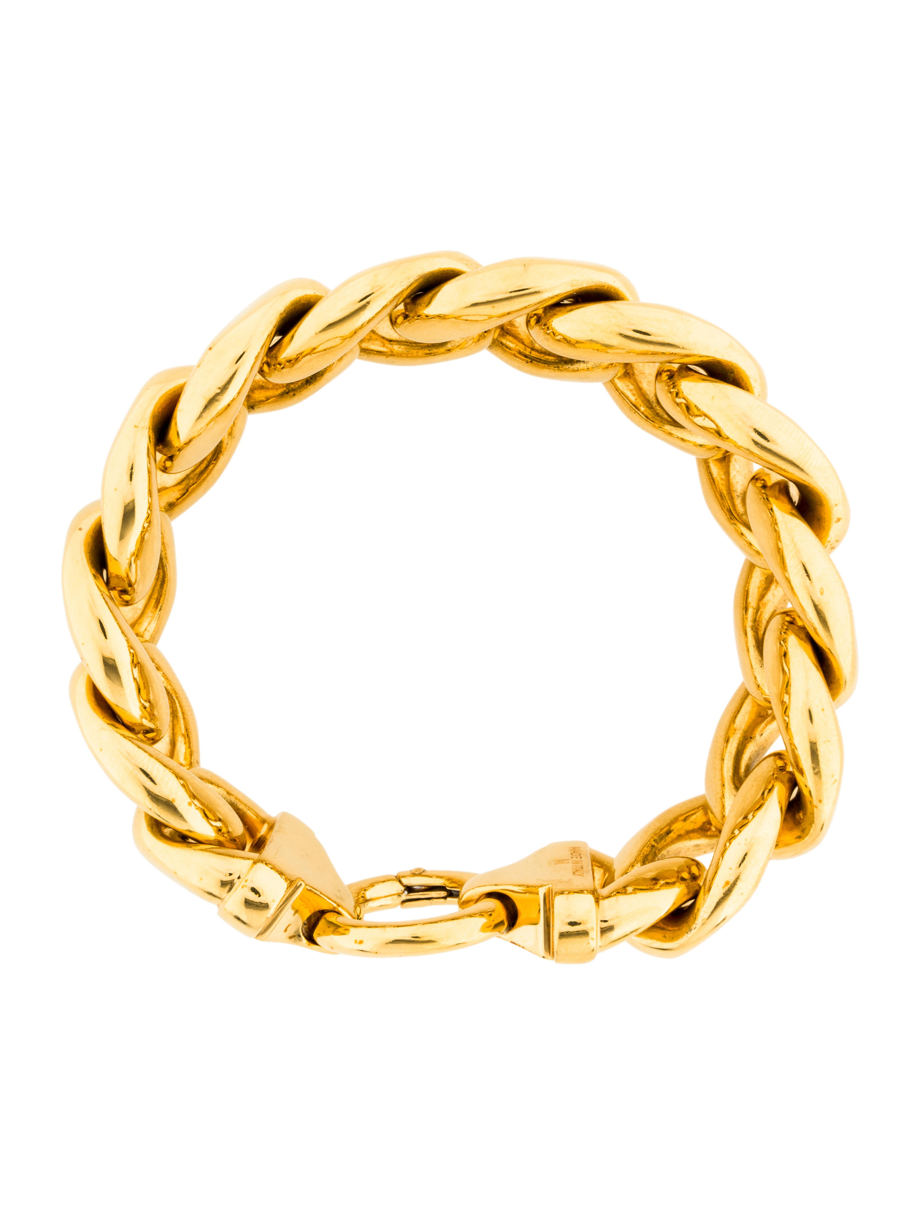 c233line chunky curb chain bracelet bracelets cel53883