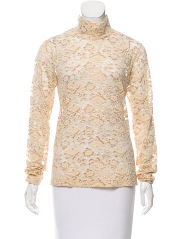 Céline Long Sleeve Lace Top None