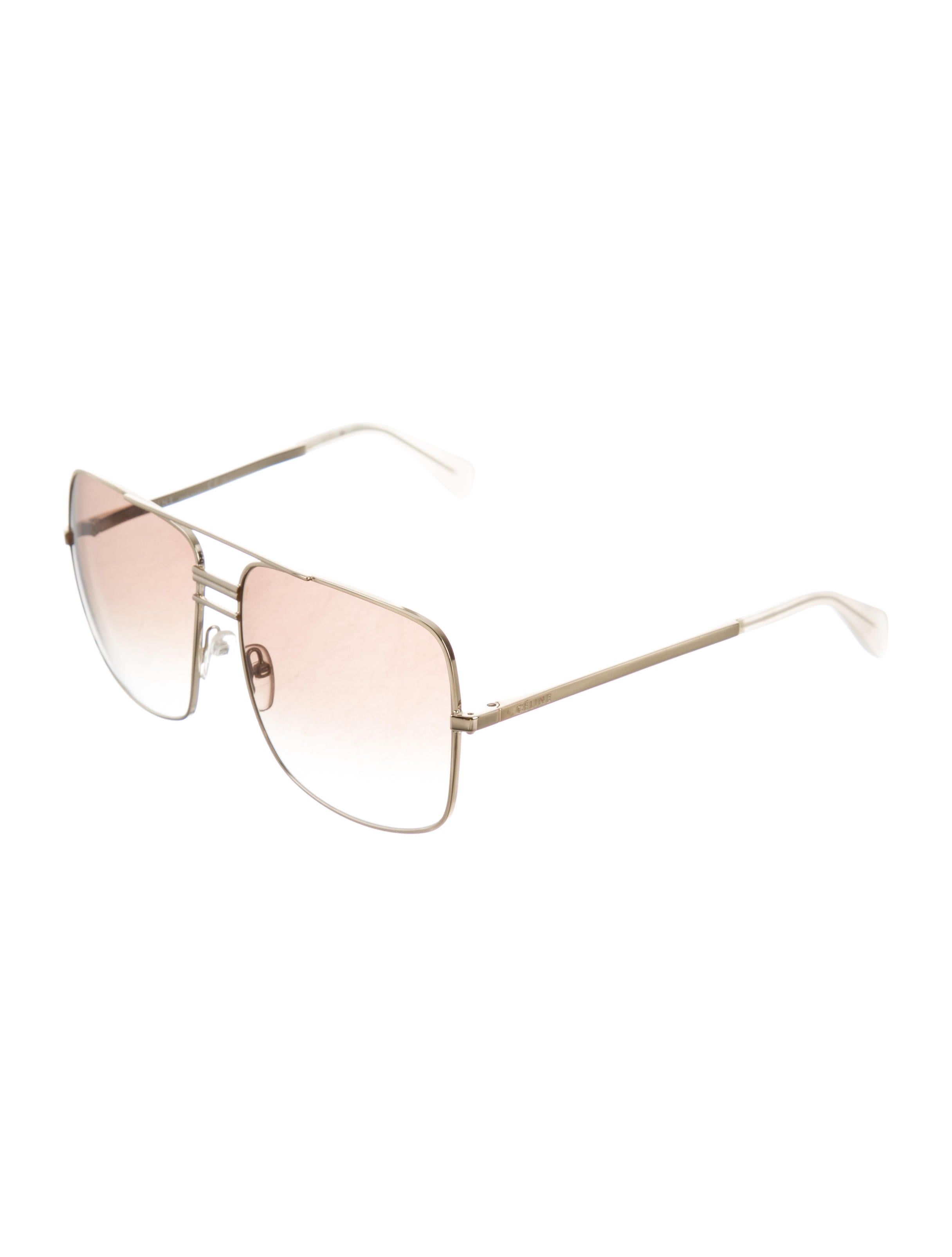 9a43668542 Céline Gradient Aviator Sunglasses - Accessories - CEL54469