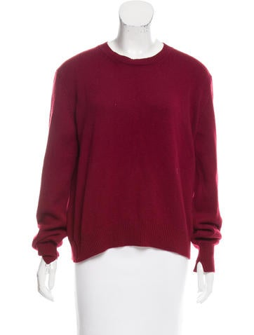 Céline Flyaway-Back Cashmere Sweater None
