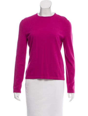 Céline Cashmere Long Sleeve Sweater None