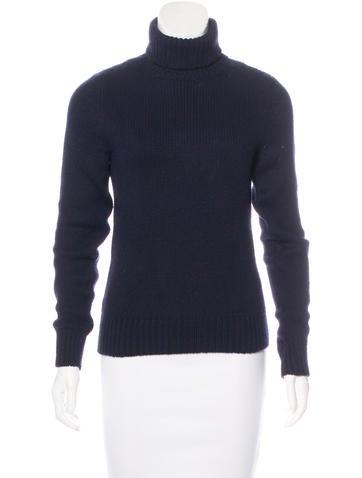 Céline Cashmere Turtleneck Sweater None