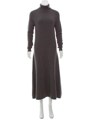Céline Cashmere Maxi Dress None