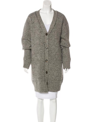 Céline Longline Wool Cardigan - Clothing - CEL55836 | The RealReal