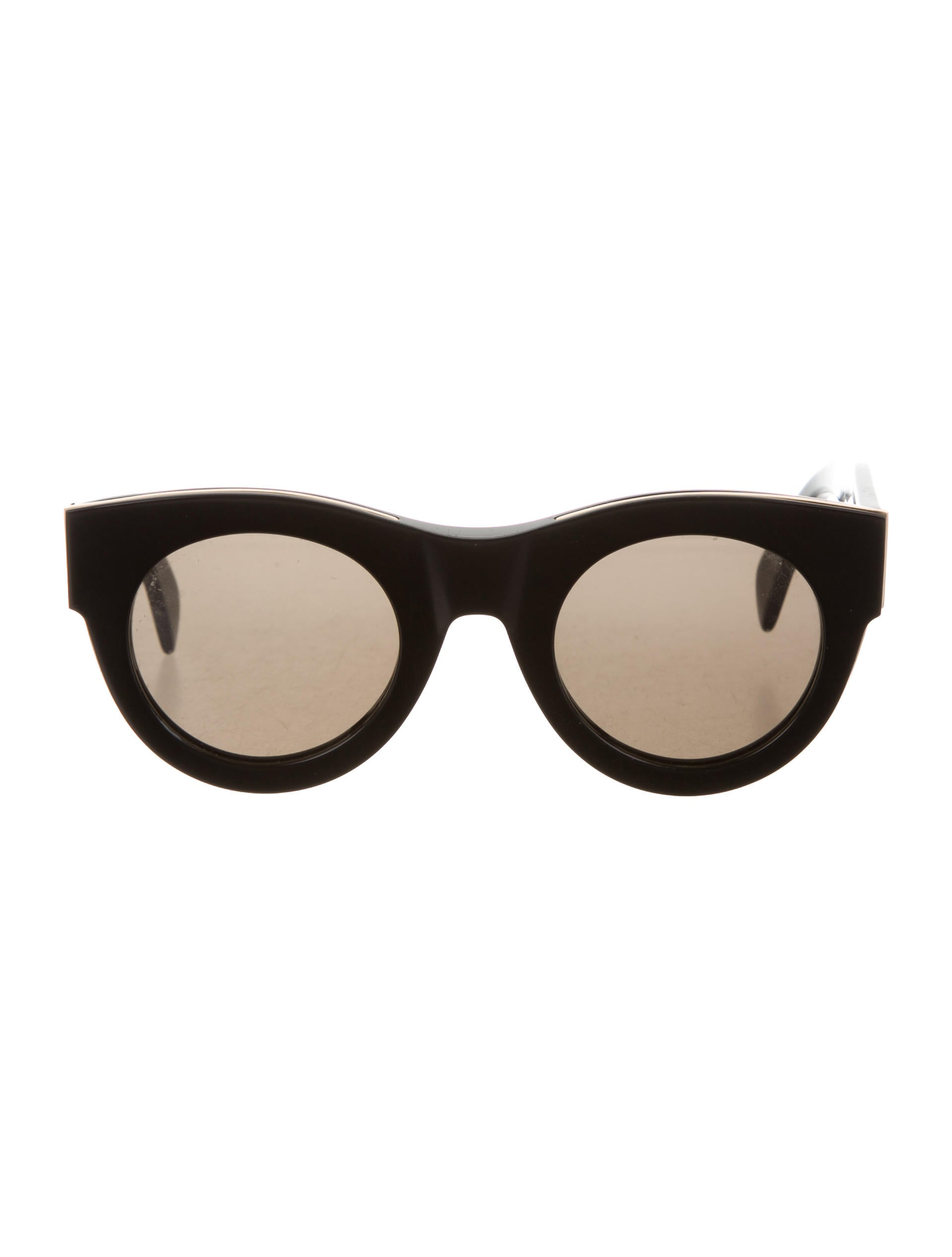 481cf6a6517 Céline Strat Circle Sunglasses - Accessories - CEL56026
