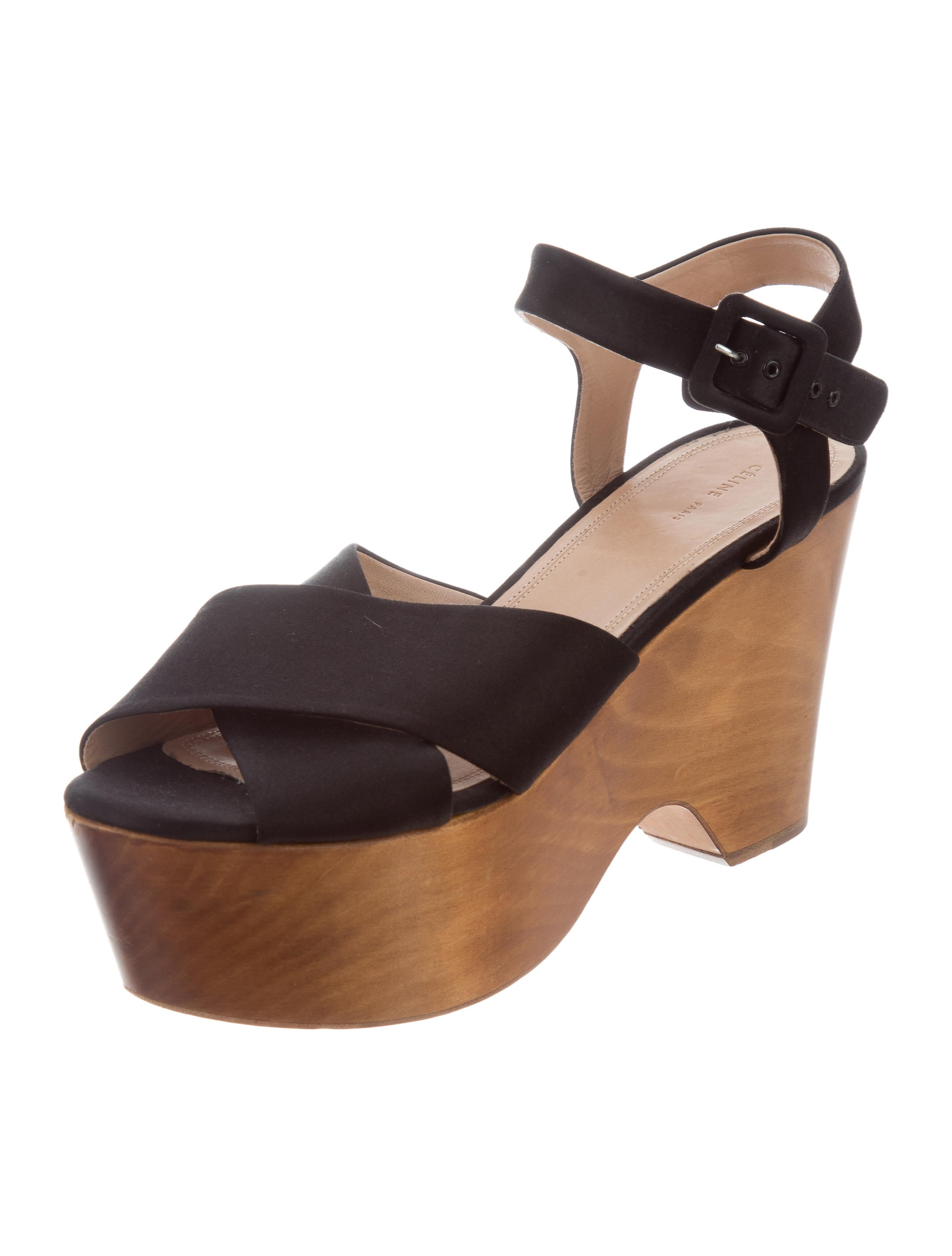 Céline Crossover Platform Sandals buy cheap big discount rmwR67H