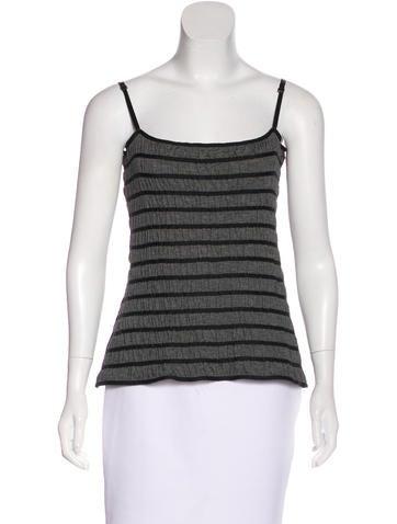 Céline Silk & Wool Top None