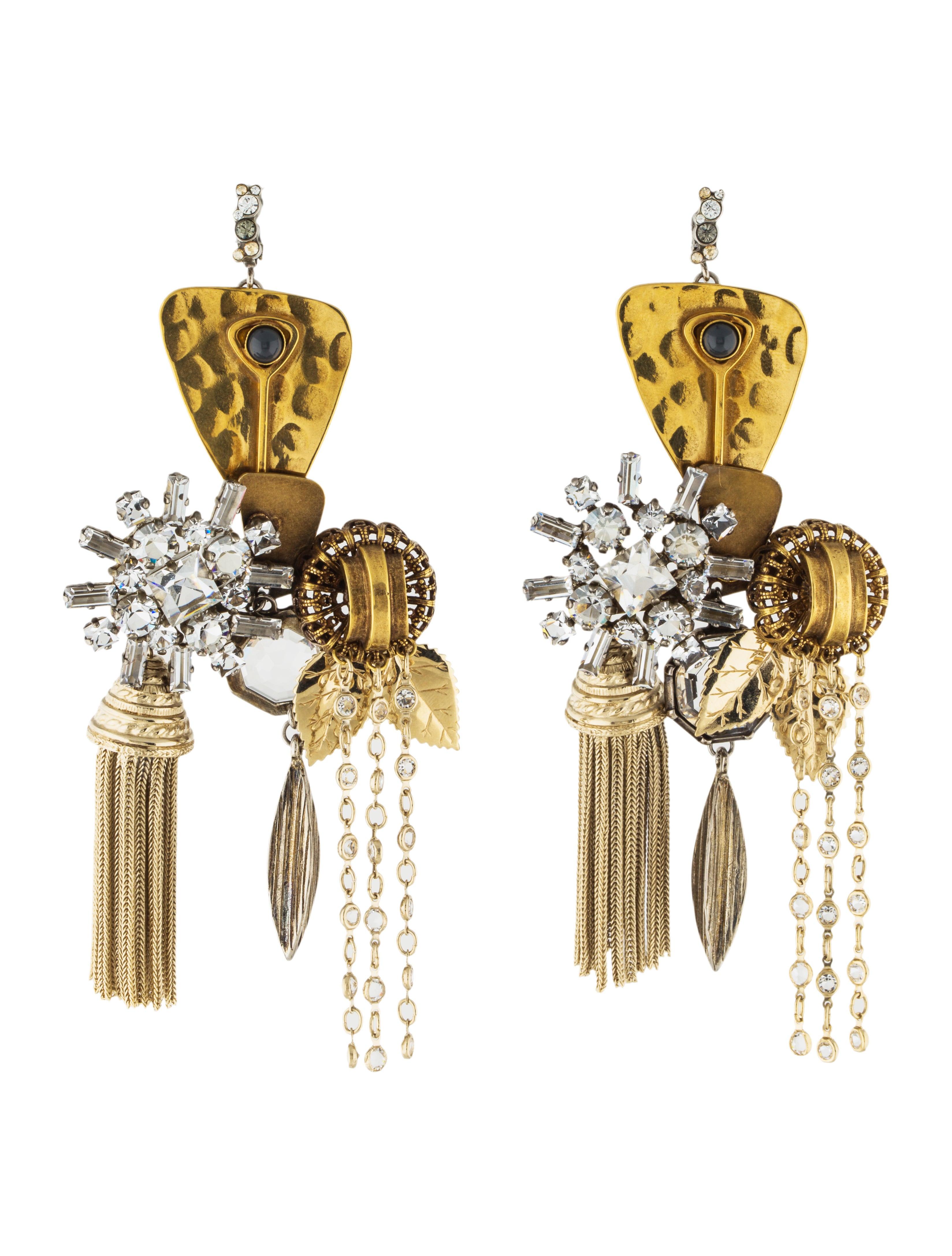 Cline crystal chandelier earrings earrings cel57263 the crystal chandelier earrings arubaitofo Images