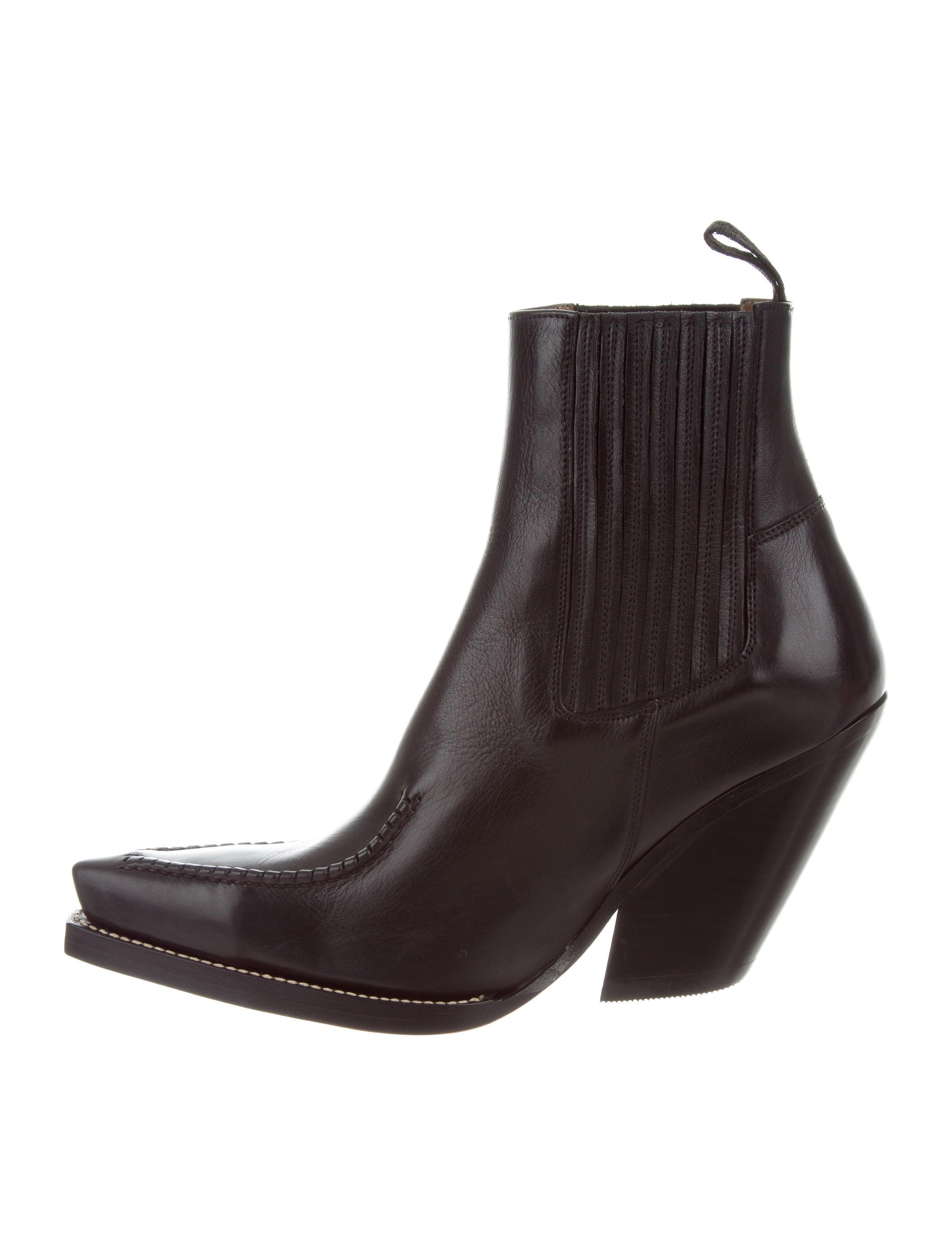 ff7a1560e373 Celine Céline 2017 Cowboy Boots w/ Tags - Shoes - CEL57401 | The ...