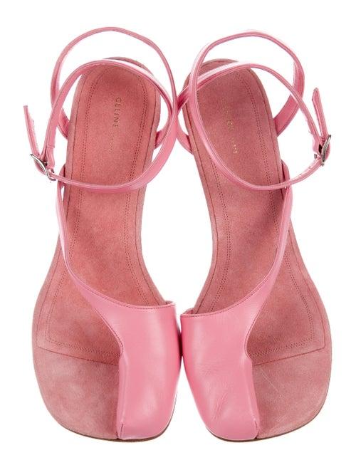 7c87513408225 Celine Céline Pirate Leather Sandals w/ Tags - Shoes - CEL57592 ...