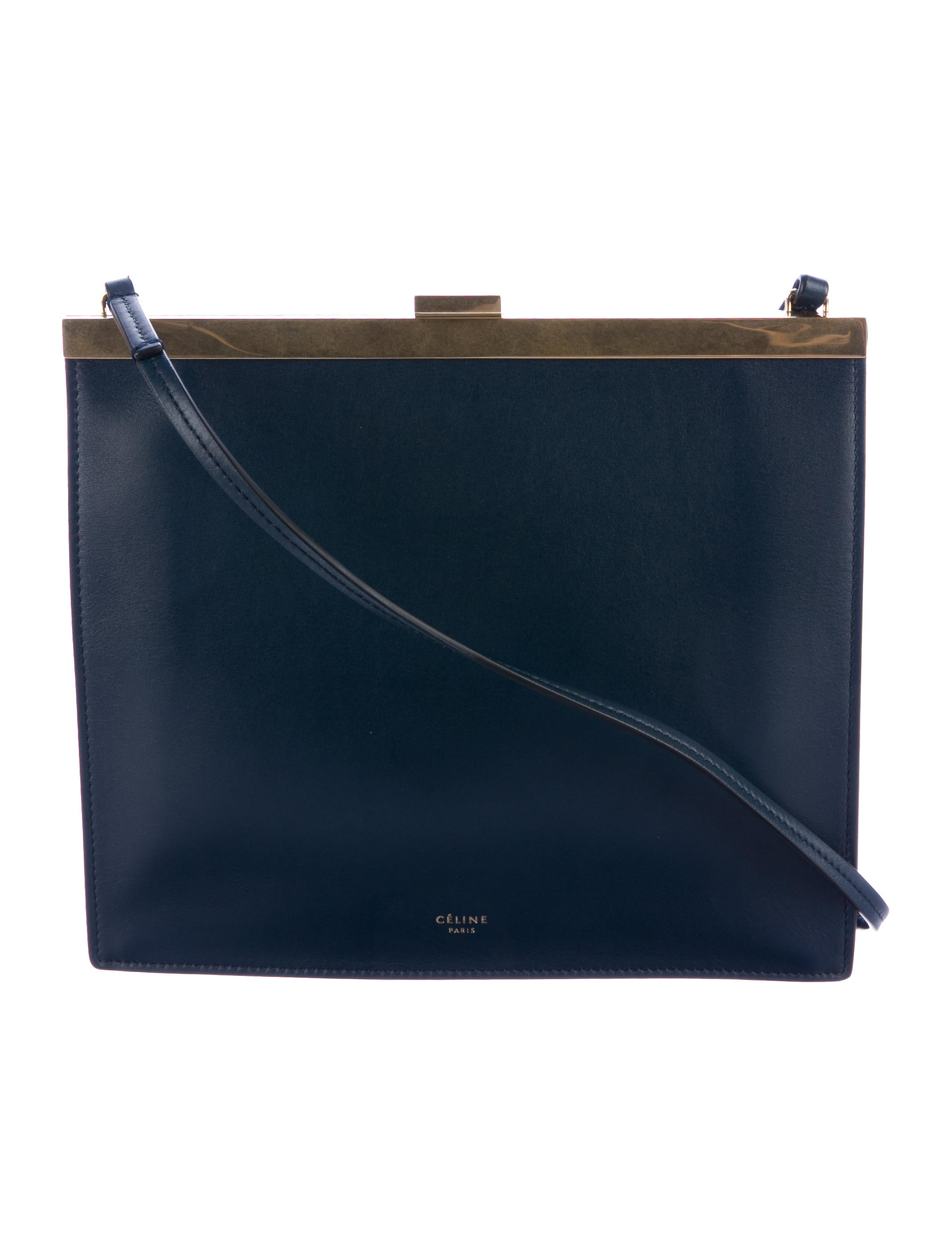 7c8da8f877f7 Celine 2017 Céline Mini Clasp Shoulder Bag - Handbags - CEL57938 ...