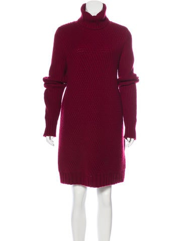 Céline Cashmere Sweater Dress None