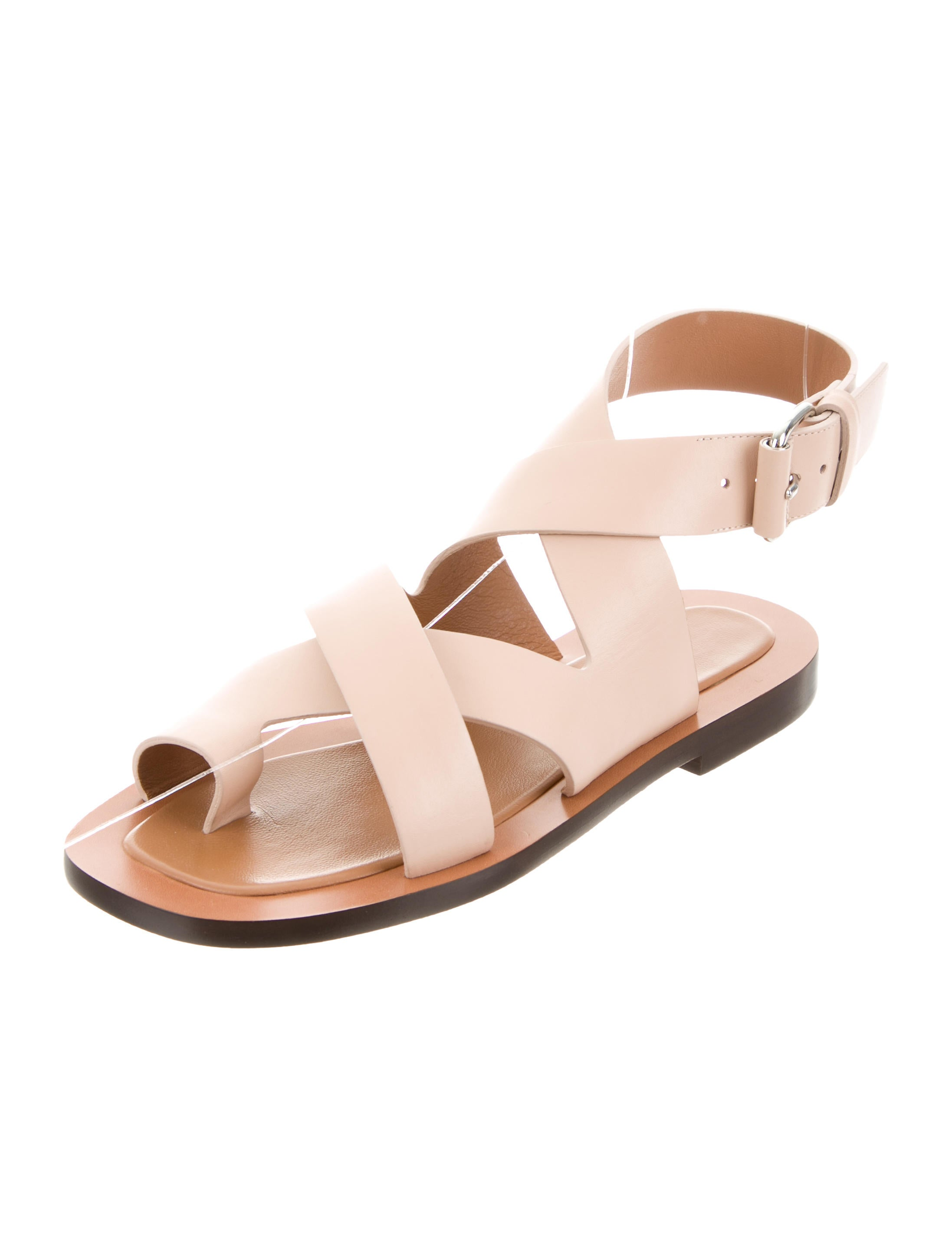 clearance store cheap online Closed Crossover Leather Sandals w/ Tags 2015 new sale online reliable sale online sale low shipping TJfaY460