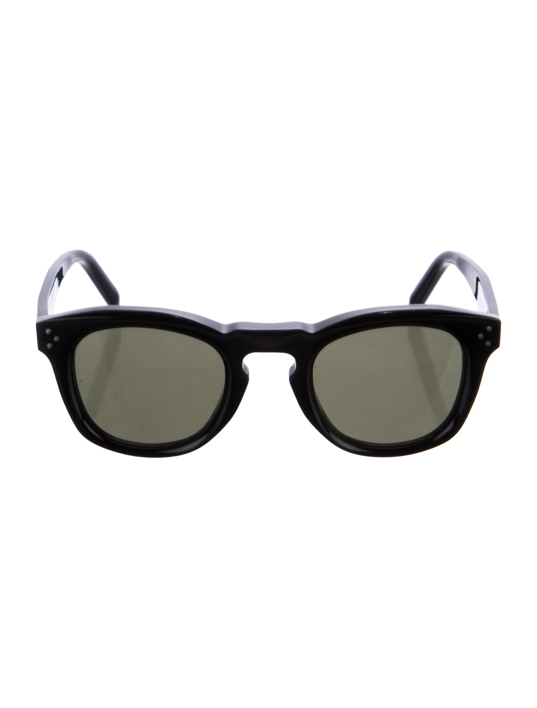 3b733c3b81de0 Celine Céline Bevel Square Sunglasses - Accessories - CEL58349