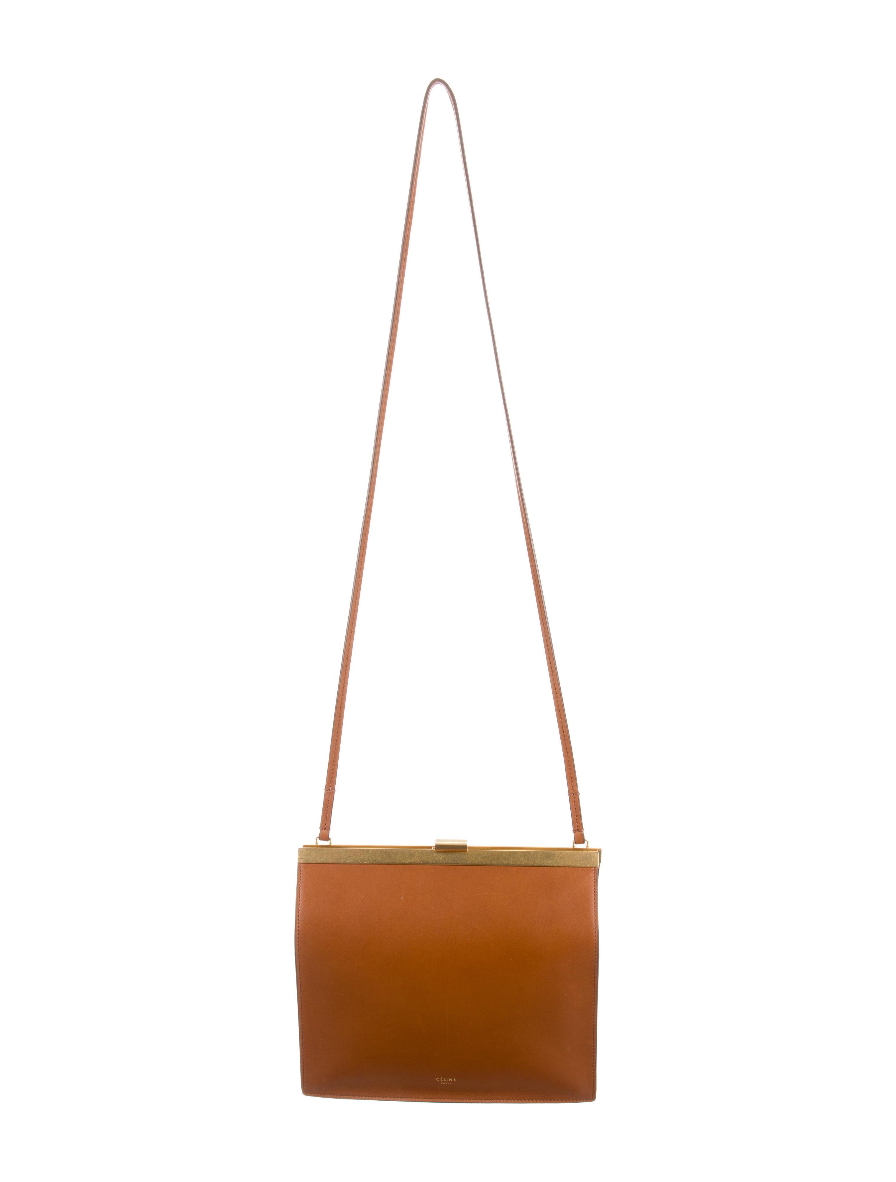 027393b288f4 Celine Céline 2017 Mini Clasp Shoulder Bag - Handbags - CEL58490 ...