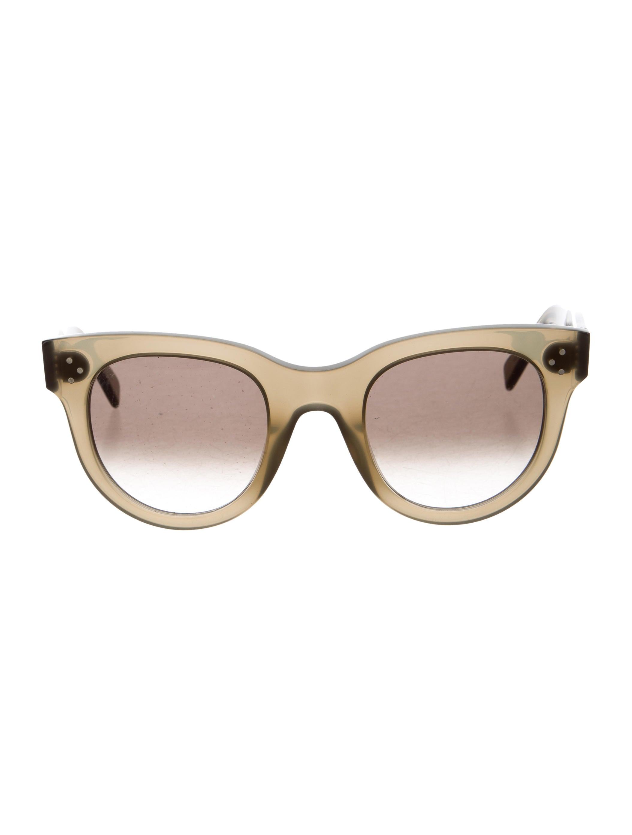 327adfa56b Céline Baby Audrey Sunglasses - Accessories - CEL58553