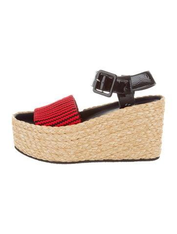 Céline Platform Wedge Sandals w/ Tags None