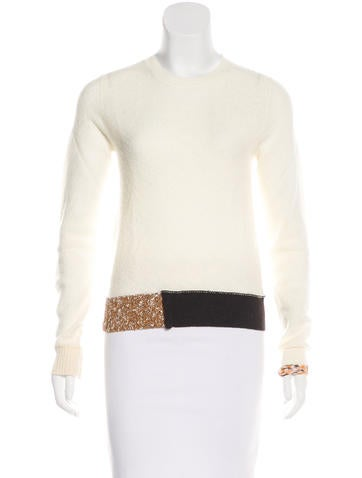 Céline Wool Knit Sweater None