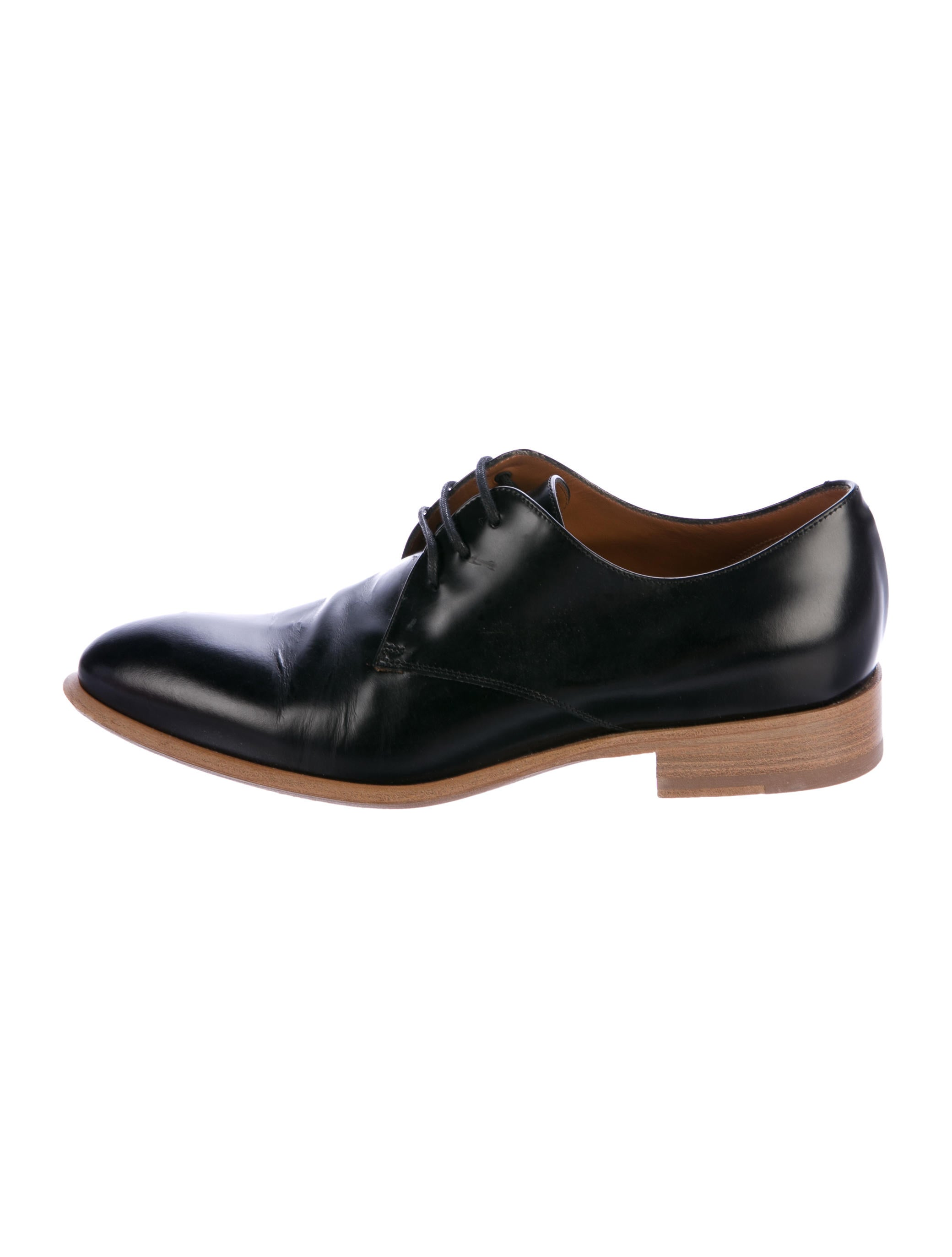 outlet 100% guaranteed buy online authentic Céline Leather Round-Toe Oxfords 2014 cheap price clearance for nice hoyF0GK