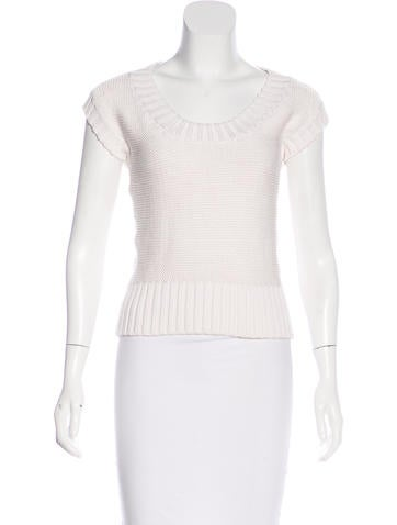 Céline Silk-Blend Sleeveless Sweater None