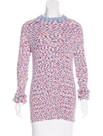 Céline Mélange Knit Sweater None