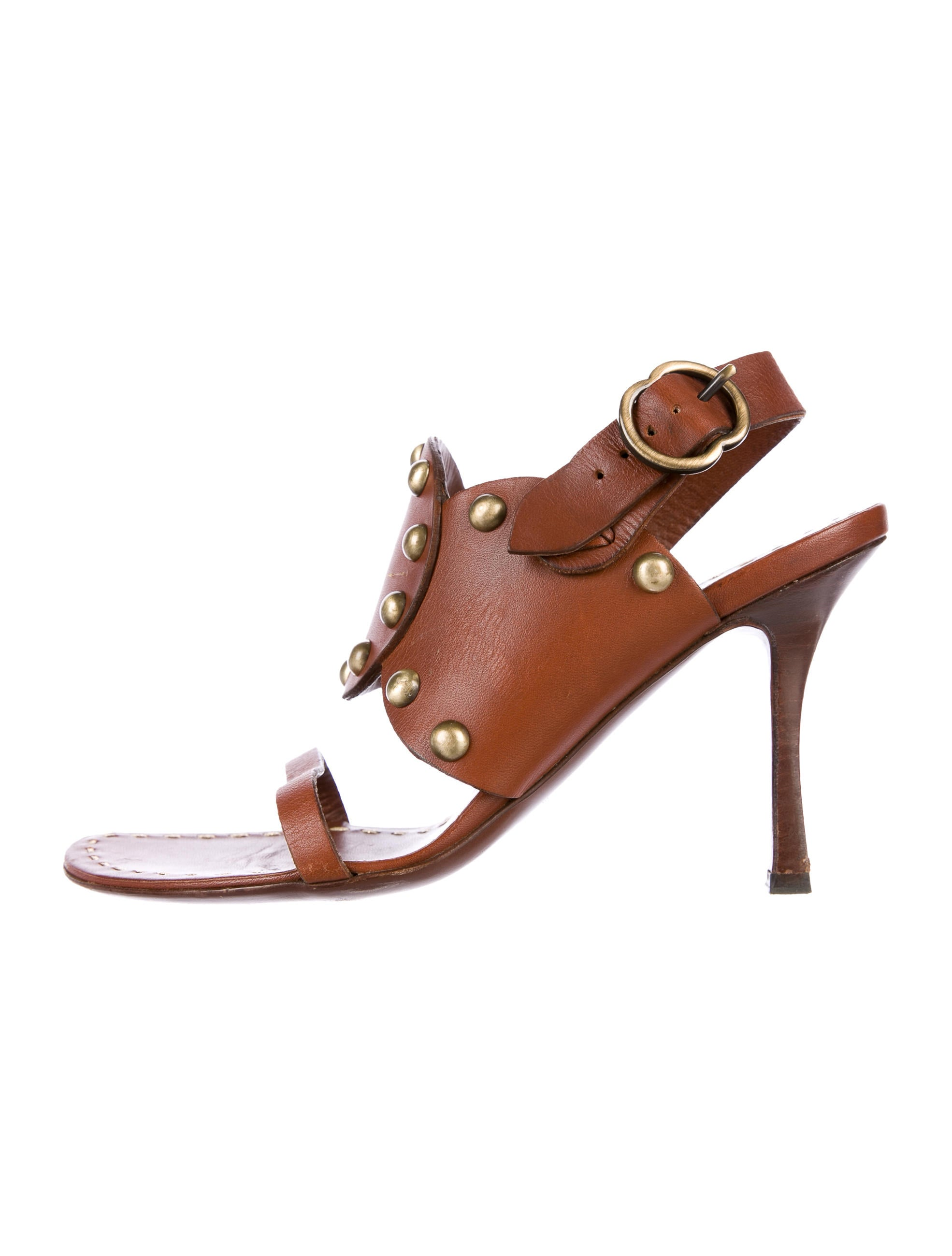 Céline Studded Leather Sandals free shipping real sale many kinds of buy cheap cost free shipping geniue stockist sgr37