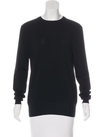 Céline Open Back Knit Sweater None