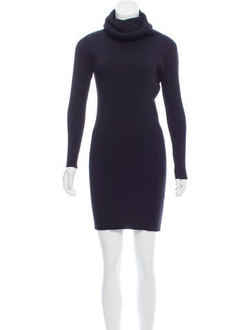Céline Mini Sweater Dress None